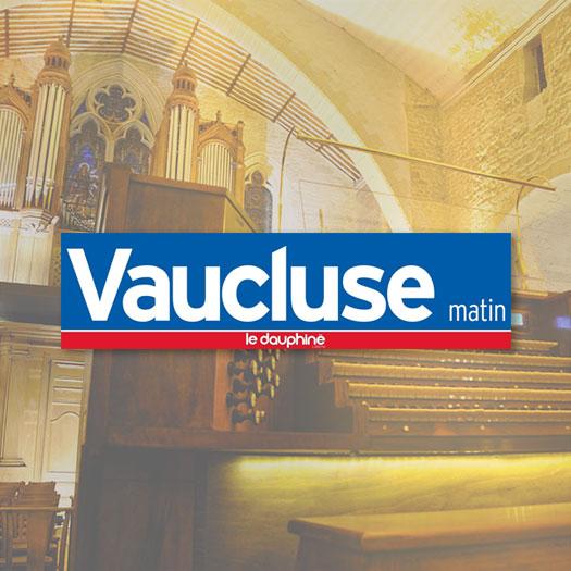 Le Vaucluse Matin Les amis de l'orgue de Monteux