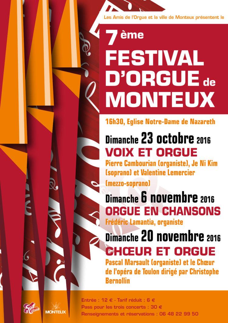 7ème Festival d'Orgue de Monteux