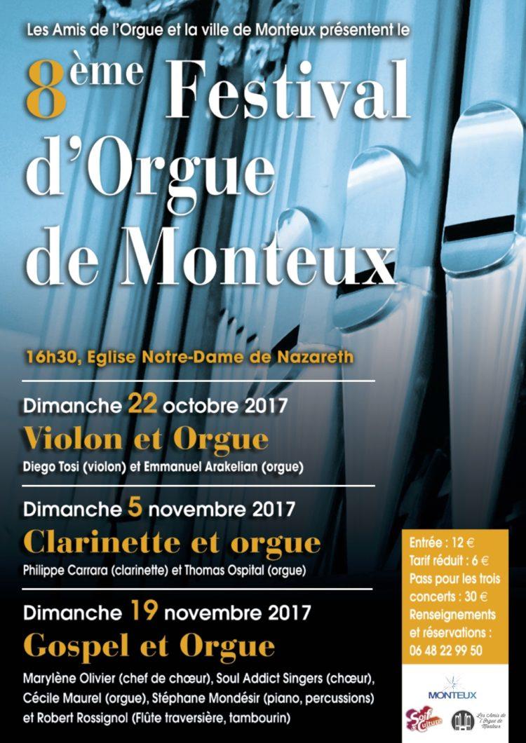 MONTEUX FESTIVAL ORGUE 2017