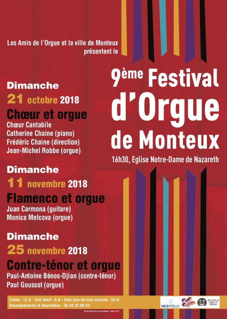 9ème Festival d'Orgue de Monteux