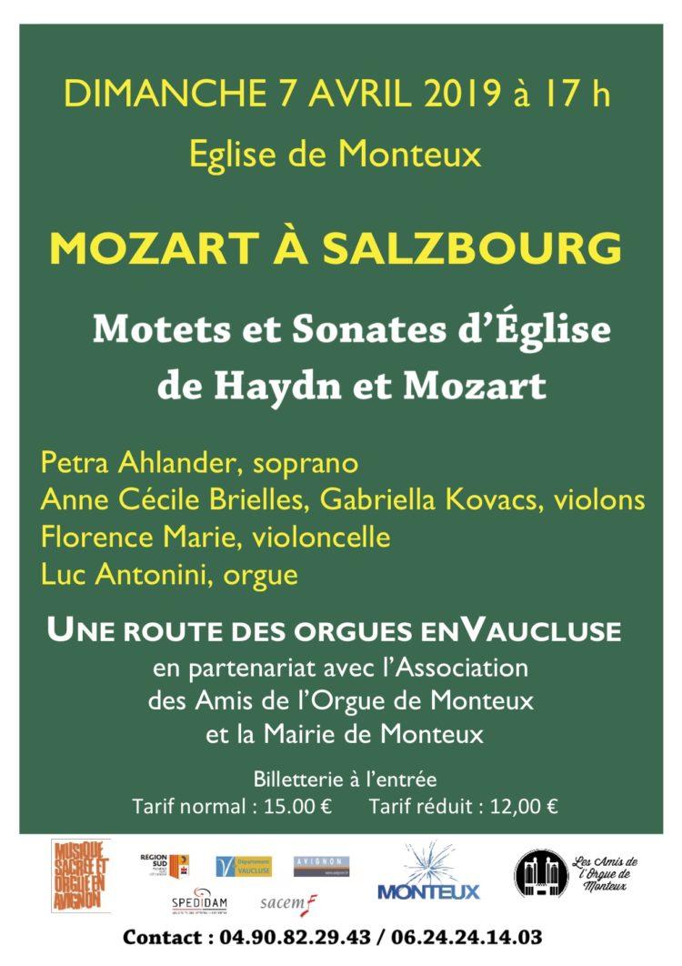 Motets et Sonates d'Église de Haydn et Mozart