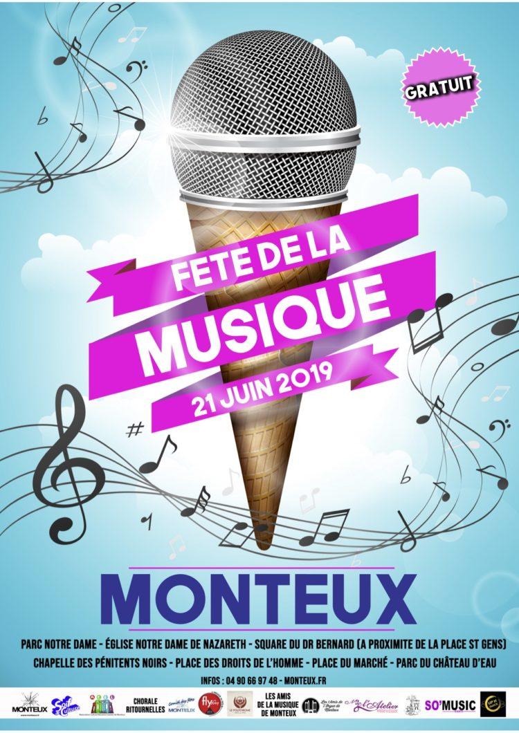 Fête de la musique à Monteux 2019