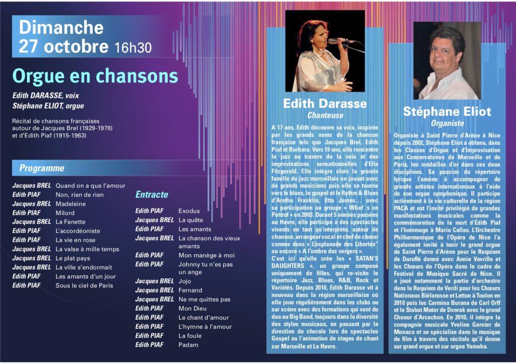 Programme 10ème Festival d'Orgue