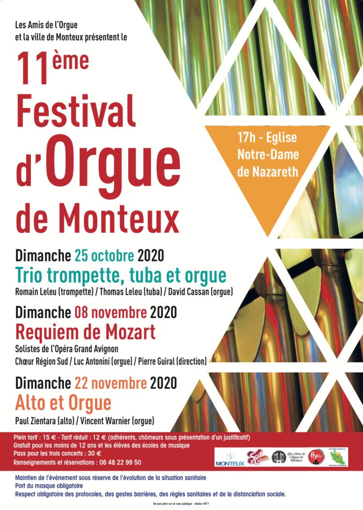 11ème Festival d'Orgue de Monteux