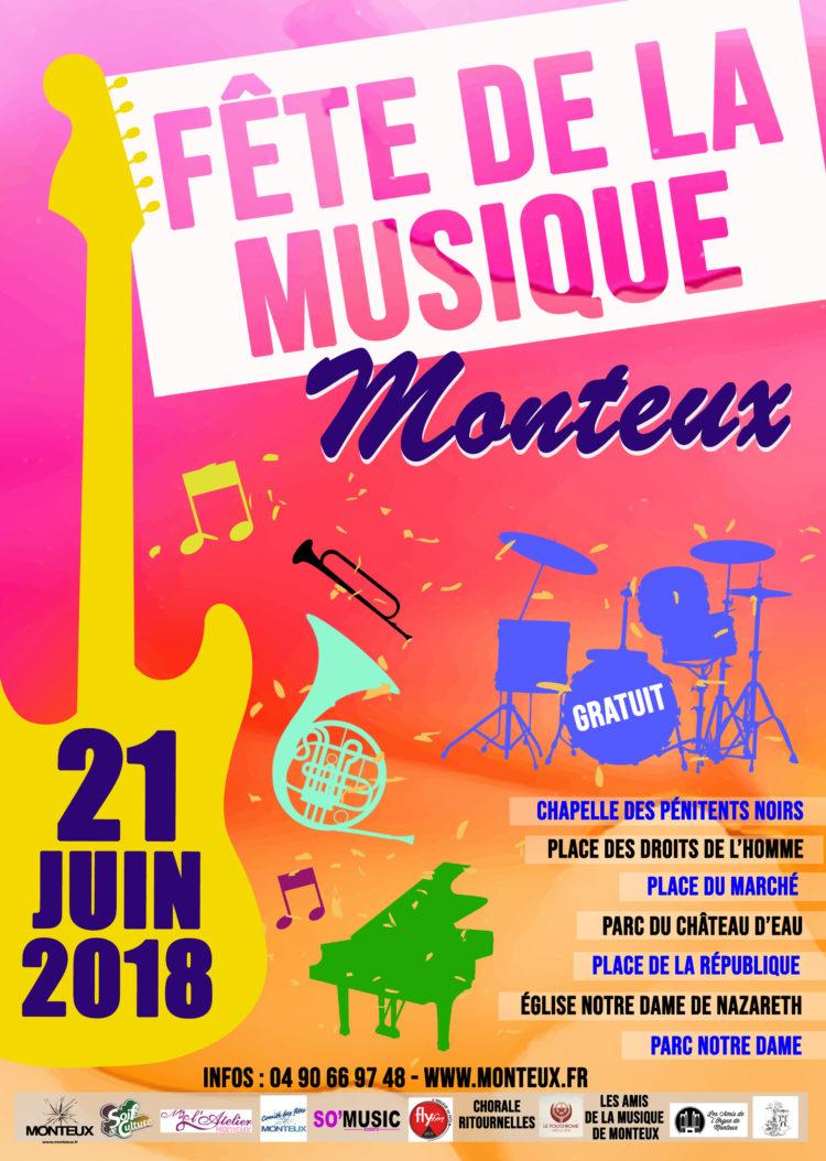 Monteux Fête de la Musique 2018