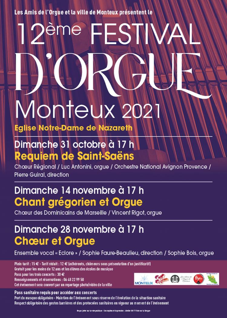 12eme festival d'orgue de monteux
